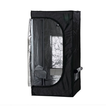 Orientrise Indoor Grow Tent Room 600D Mylar Hydroponic Growing Plant