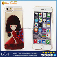 [GGIT] Cute Girl Cover PC Case for iPhone 6