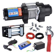 ATV 12V Electric Winch with 4500lb Pulling Capacity