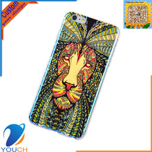 Custom top technology imd blue light printing animal king lion design smart phone cover for iPhone 6 6s 6 plus 6s plus