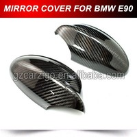 For BMW E90 CARBON FIBER Side Rear Mirror Housing Cover