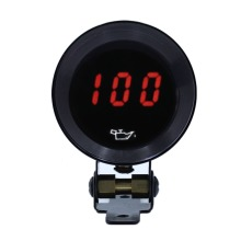 37mm Digital display oil pressure gauge car meter car parts