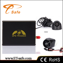 gps106 ACC Detection GPS Tracker Dual simcards Tracking by cell phone TK106