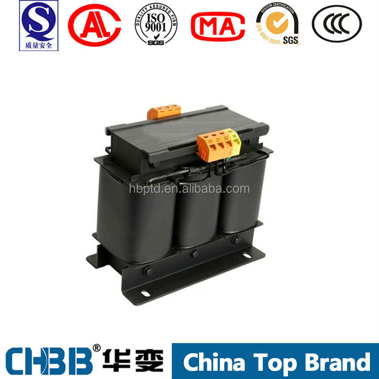 SG/SBK 25kva three phase isolation transformer 220v to 280v