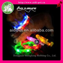 hot led dog collar fancy dog collars small dogs
