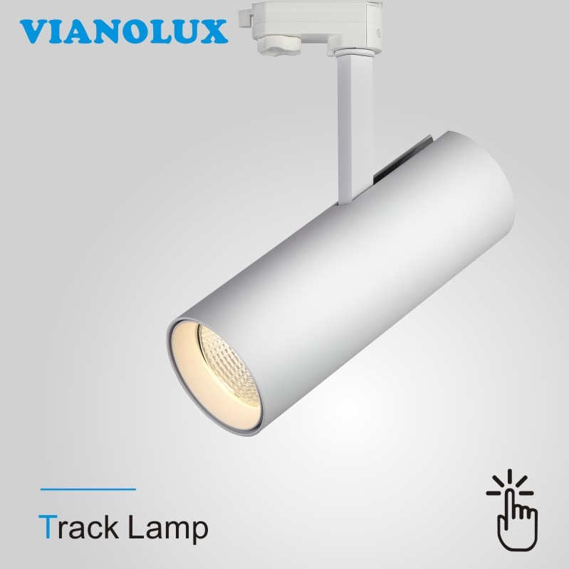 European Market 3 Phase Dali Dimmable LED Track Lighting 30W