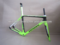 MIRACLE oem 3k 12k UD triathlon bike frame carbon road