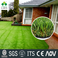 china supplier plastic landscaping artificial grass for garden