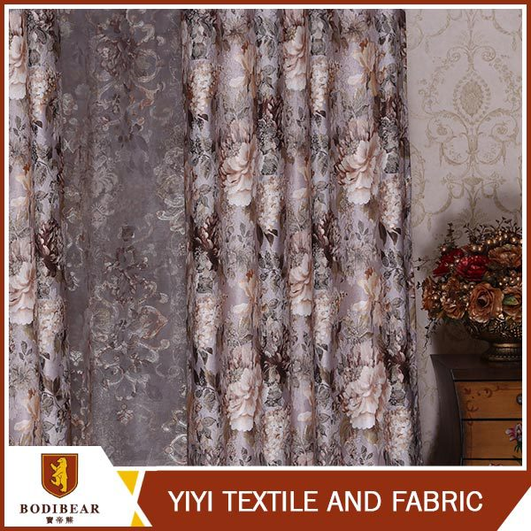 Fabric Textile Restaurant Fashionable beads window curtain