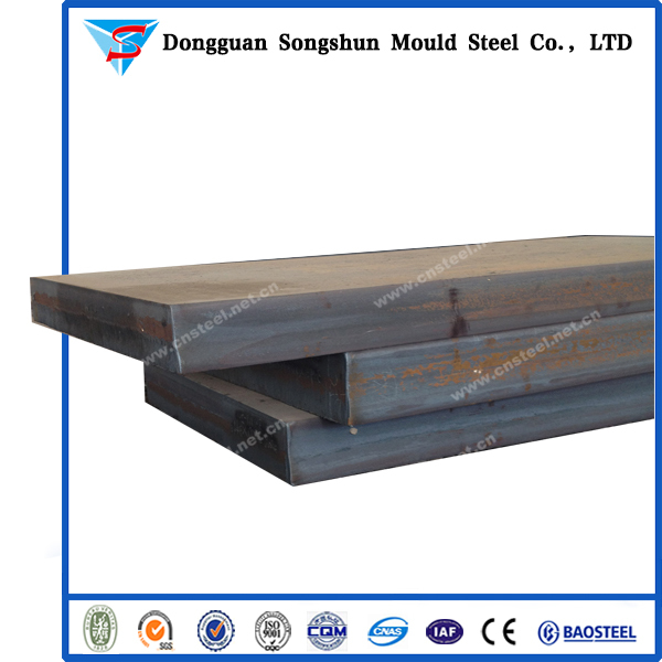 Cold work mould steel O1 hot rolled alloy structure flat steel bar