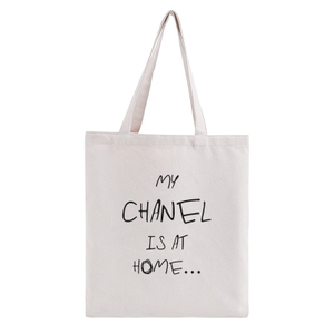 Cute Traveling New Style Business Plain Cotton Tote Bag