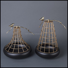 Customized Resin Craft Gift Famous Sculpture With Metal Birdcage For Egyptian Home Decor