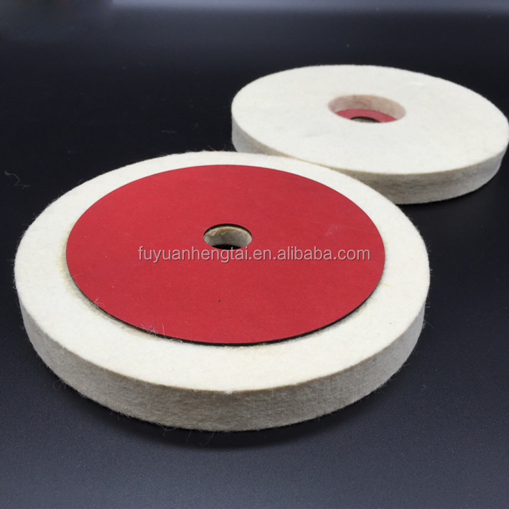 100% wool felt hard Felt Polishing Buffing Burr Wheel