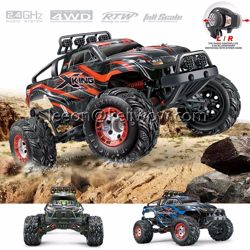 High Speed 2.4G Electric Radio Remote Control Car 4WD Brushless RC Monster Truck
