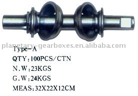 Bicycle axle