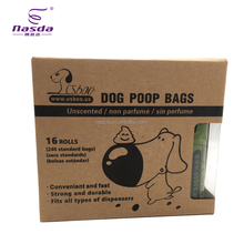 Usboo 16Rolls package biodegradation waste bags for <strong>pet</strong>