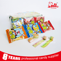 Wholesale Colorful Fruit Flavor Sour Gummy Roll Candy