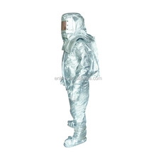 heavy duty alumunized fire entry suits, fire fighting suits, firefighter suits