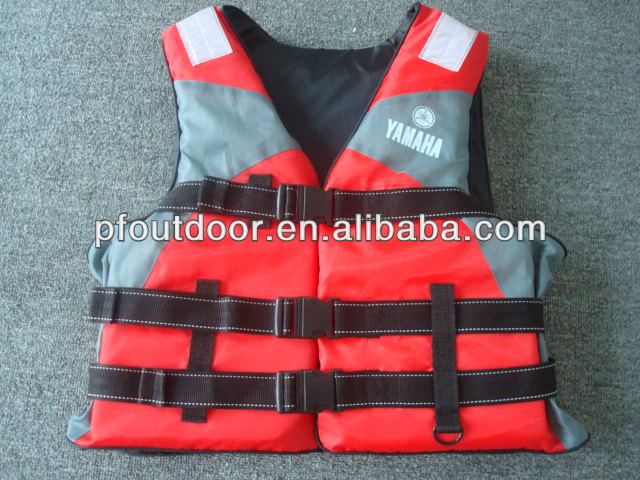 400D waist belt adult life vest jacket for sale floating marine life jackets