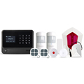 LED display home security alarm system with smart devices to control home appliances WIFI security alarm system GSM alarm