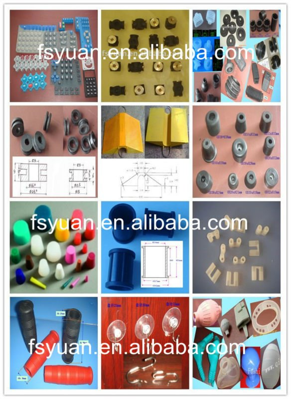 Rubber Products with metal