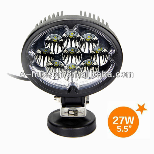 "5.5"" led worklight, spotlight UTV ATV construction 4x4 road automotive agricultural tractor led work light for all cars"