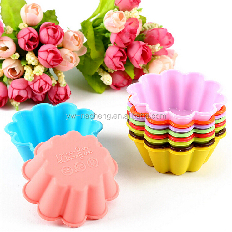 7.5*7.5*2.9cm eco-friendly silicone pumpkin shaped ice cube molds/christmas cake mould