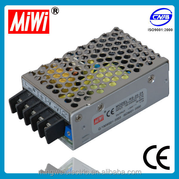 RS-25-48 miwi 25w 48 volt 0.57a Single Output Switching Power Supply