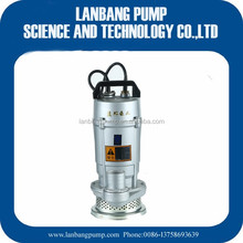 Submersible Sand Dredging Pump 100% Copper Wire & Output Power Submersible Sludge Pump 1HP Small Water Pump With Protector