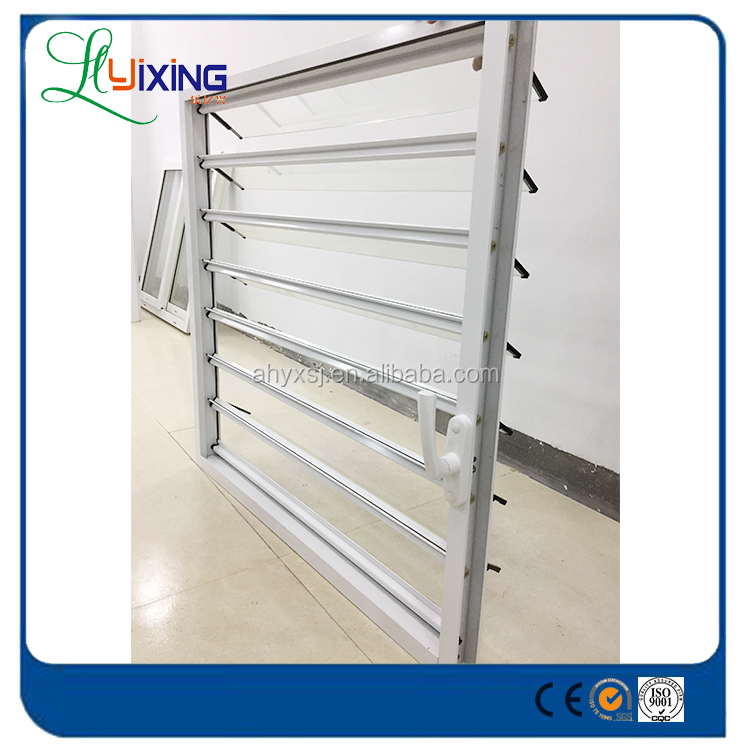 Trustworthy china supplier aluminum sliding glass louver windows