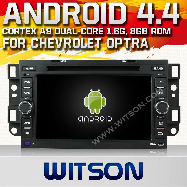 WITSON ANDROID 4.4 DOUBLE DIN CAR DVD GPS FOR CHEVROLET AVEO 2002-2011 WITH 1.6GHZ FREQUENCY DVR SUPPORT RAM 8GB FLASH BLUETOOTH