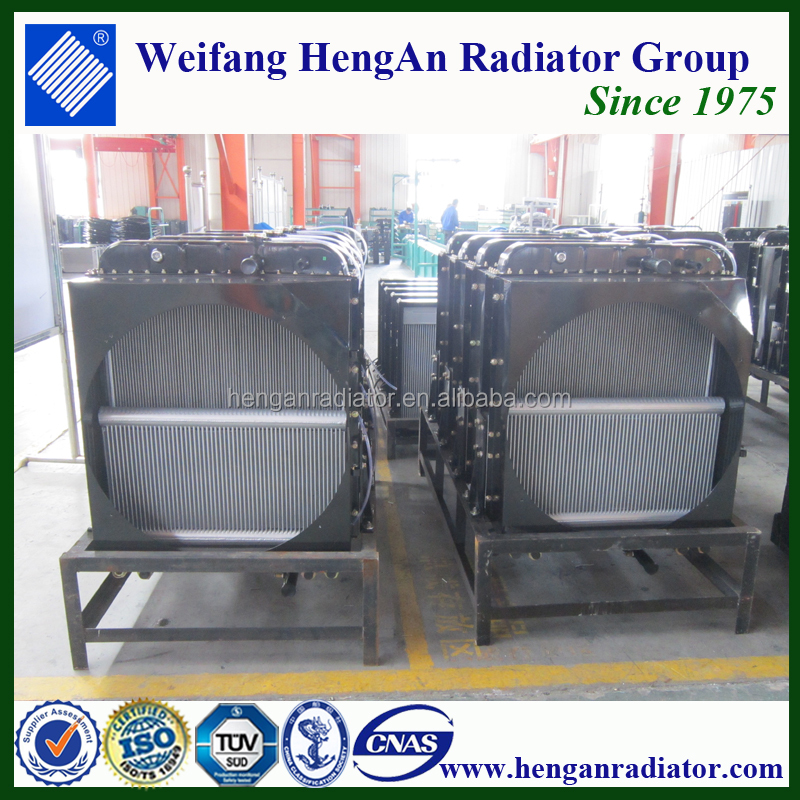 water cooling copper Aluminum car water radiator manufactures China