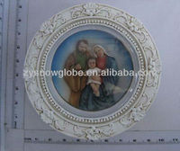 Decorative polyresin religious picture frames