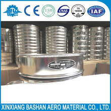 200mm Stainless Steel Frame 75 Micron Square Mesh Laboratory Test Sieve