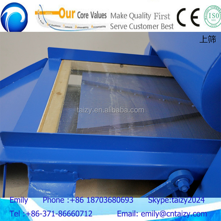 The pupa and adult Tenebrio molitor selecting machine Mealworm Beetle sorting machine