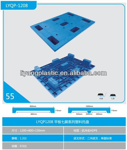 plastic pallet 120 80,nestable plastic pallets,plastic pallets in China