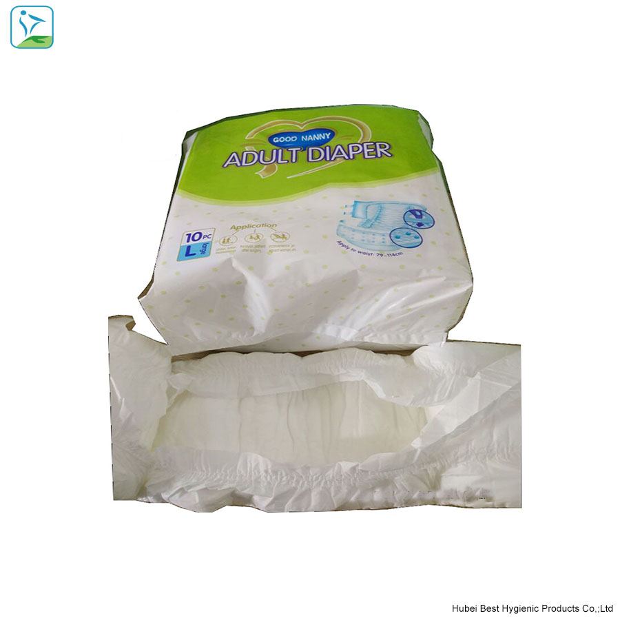 Free sample hot selling alibaba adult diapers Wholesales factory price in China for inconveniator