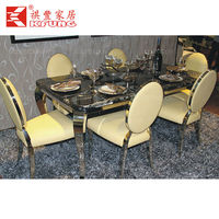 modern rotating dining table
