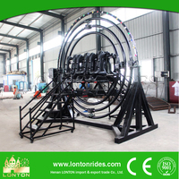 Lower Price China Amusement Ride 6seats Back to Back Gyro Loop Rides Manufacturer For Sale