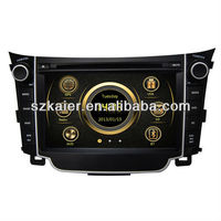 Factory direct !car dvd for hyundai I30 with 3g, wifi, bt, mirror link, radio, gps+OEM+CE, ROHS, CCC, FC, SASO