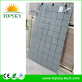 wholesale tier 1 double glass solar panel price low 255W 265W 2mm thickness, frameless and 100% PID free PV solar module