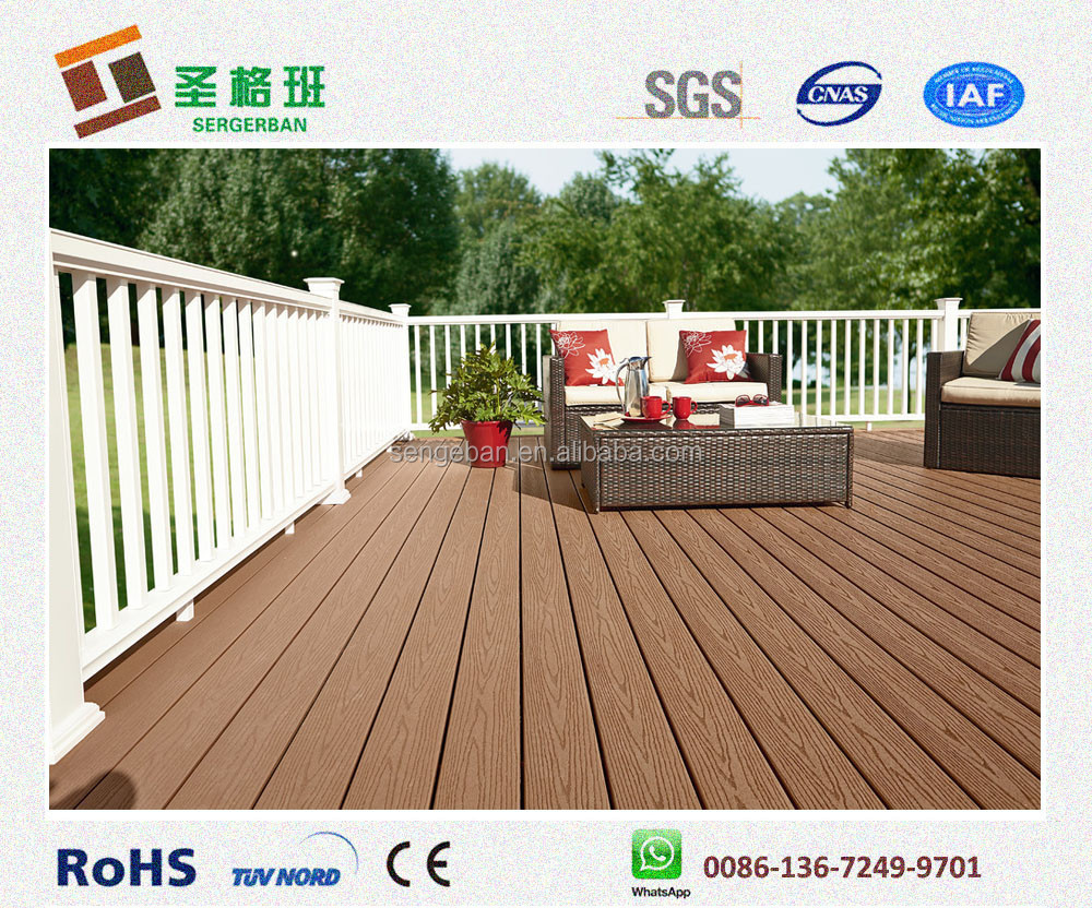 Wpc decking composite decking wood plastic composite for The range decking boards