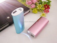Power bank/travel charger 4400mah 18650 battery 5v 1A usb output for samsung/huawei smartphones