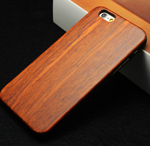2017 latest luxury bamboo wood phone case for iphone 6s plus, for iphone 6s plus case wood natural phone cover