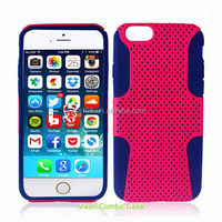 new product toolbox hybrid combo mesh case for iphone 5c