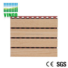 diffuser blanket / acoustic wooden panel for office room