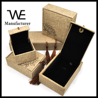 Chinese Style High Quality Jewelry Set Wooden Box