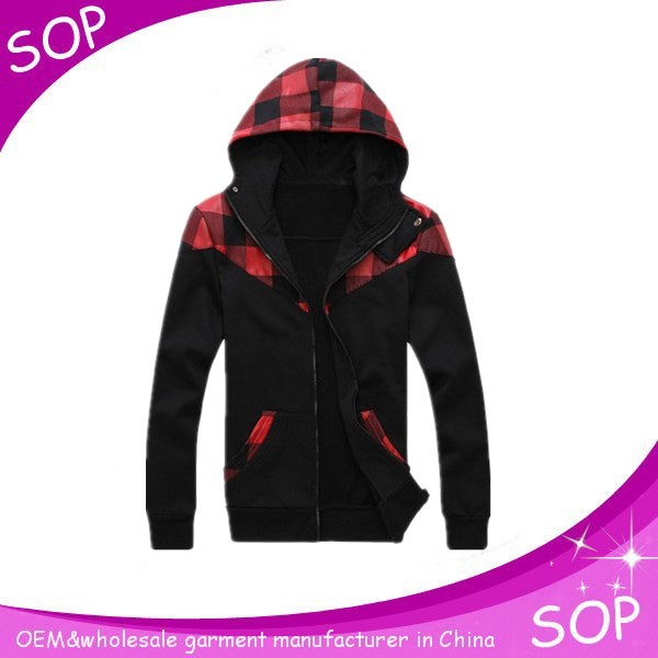 Boys zipper gym hoodies sports clothing OEM