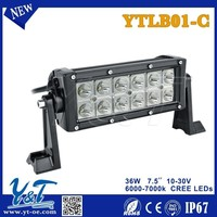 New! CE Certified led auto parts 36W cheap leds Offroad Led Light Bar amazing led Light Bar