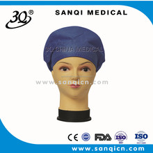 nonwoven mob hair heating disposable printed disposable bouffant surgical hair cap
